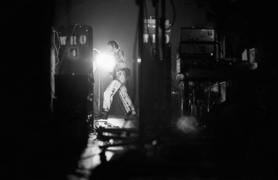 Pete Townshend mit The Who live in der Stadthalle Offenbach am 13.09.1970