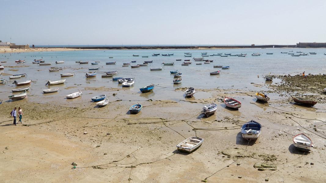 Cádiz: Strand La Caleta